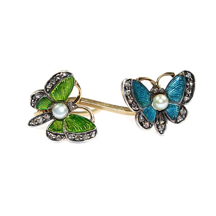 Edwardian Butterfly Brooch