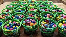 eggs in golf range baskets.jfif