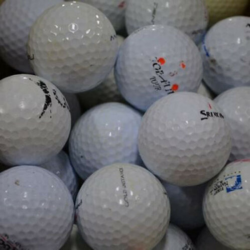 Used Practice Golf Balls (100 and 200)