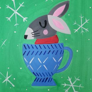 Z-Teac Cup Rabbit
