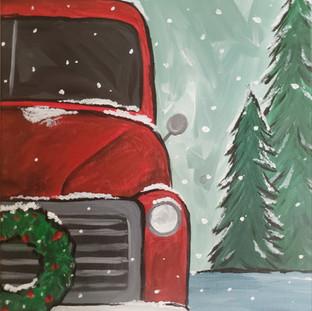 Winter Trio Truck