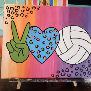 Peace Love Sport
