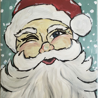 Winter Trio Santa