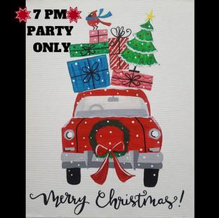 Z-Merry Christmas Car
