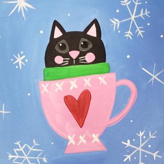 Z-Tea Cup Cute Kitty