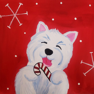 Z-Candy Cane Pup