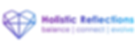 Holistic Reflections Horizontal logo col