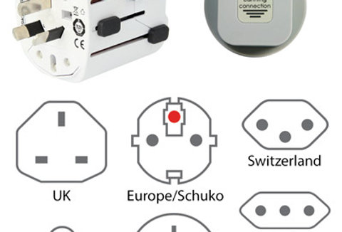 Earthing/Grounding Worldwide Connection Plug