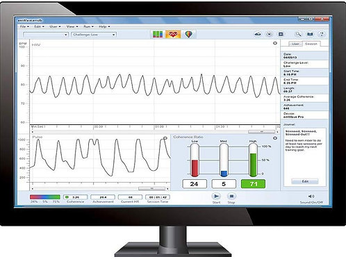 emWave® Pro hardware/software system