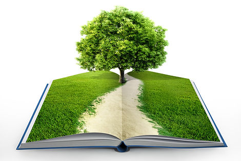 book of nature isolated on white.jpg