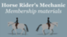 Horse Riders Mechanic Membership Materia