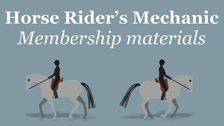 Horse Riders Mechanic Membership Materia