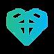 Holistic Equine Heart Logo Colour Wht Ba
