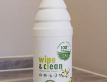 Wipe and Clean Natural Microbial Eco friendly Cleaner