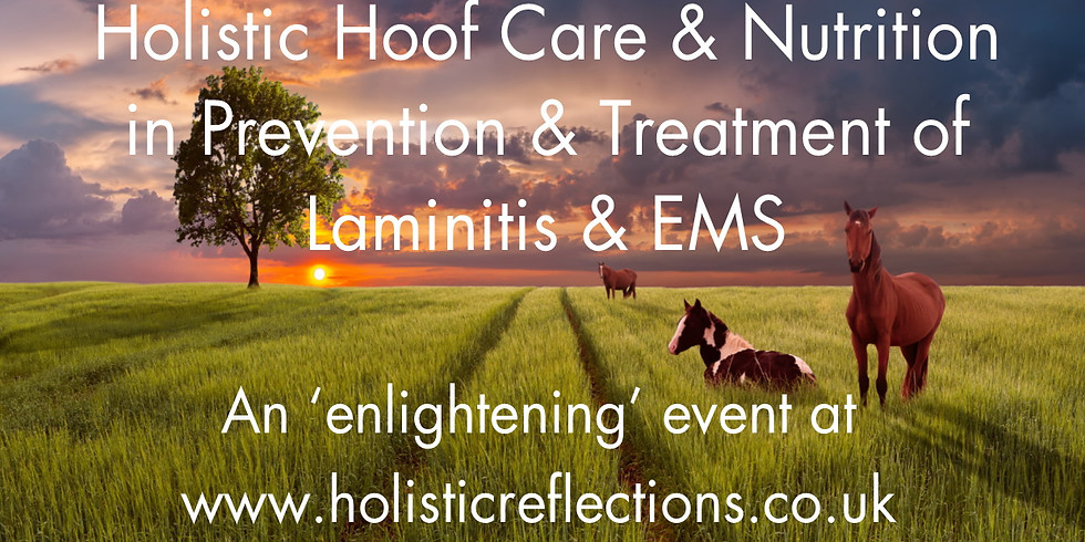 Holistic Hoof Care & Nutrition in Prevention & Treatment of Laminitis & EMS