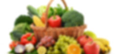 Composition with vegetables and fruits i