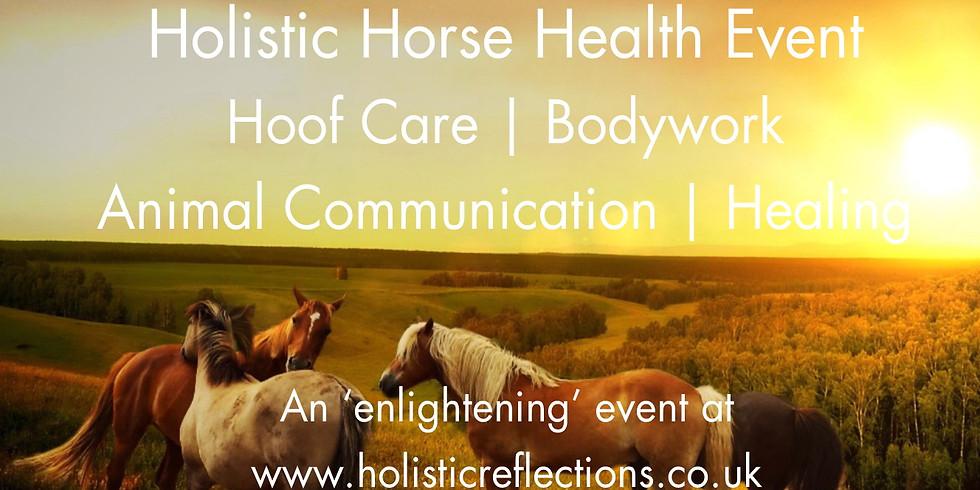 Holistic Horse Health Event - Hoof Care | Animal Communication | Bodywork | Healing - August 4th 2019