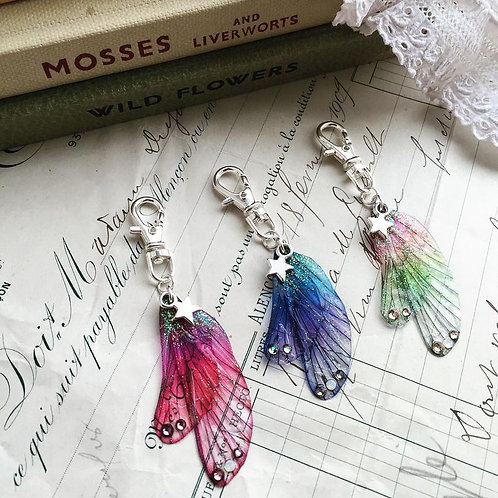 Mini Faerie Wing Keyring