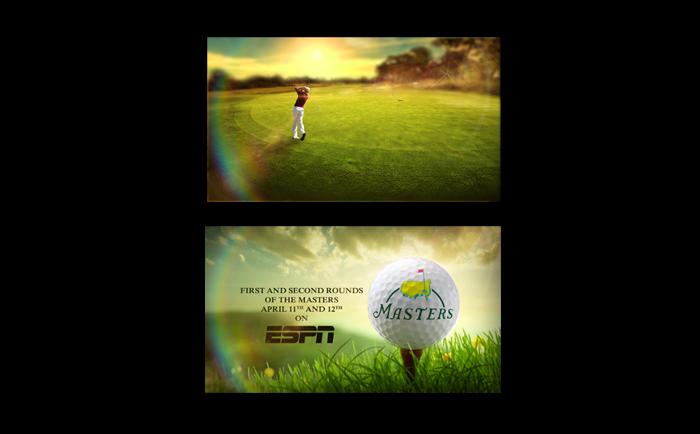 ESPN Masters Golf