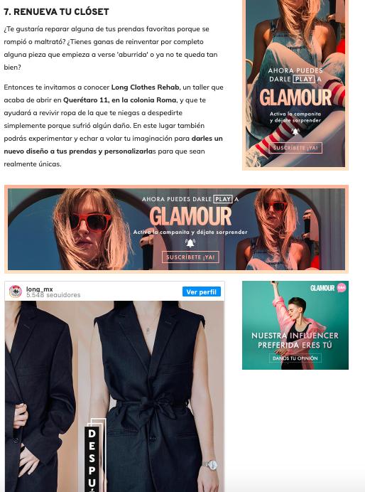 Glamour México, Diciembre 2019