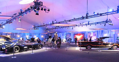 Dark Knight Trilogy Batmobiles on Exhibit