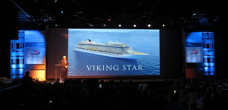 Torstein Hagan at Viking Star Announce Event