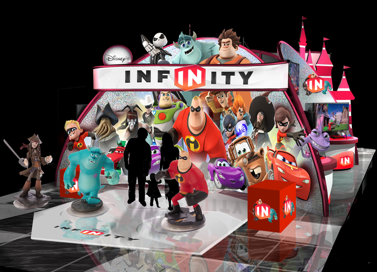 Disney Infinity Booth Rendering