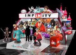 Disney Infinity Booth Rendering