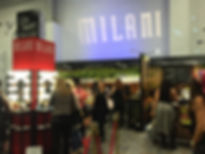Milani Booth at BeautyCon NY