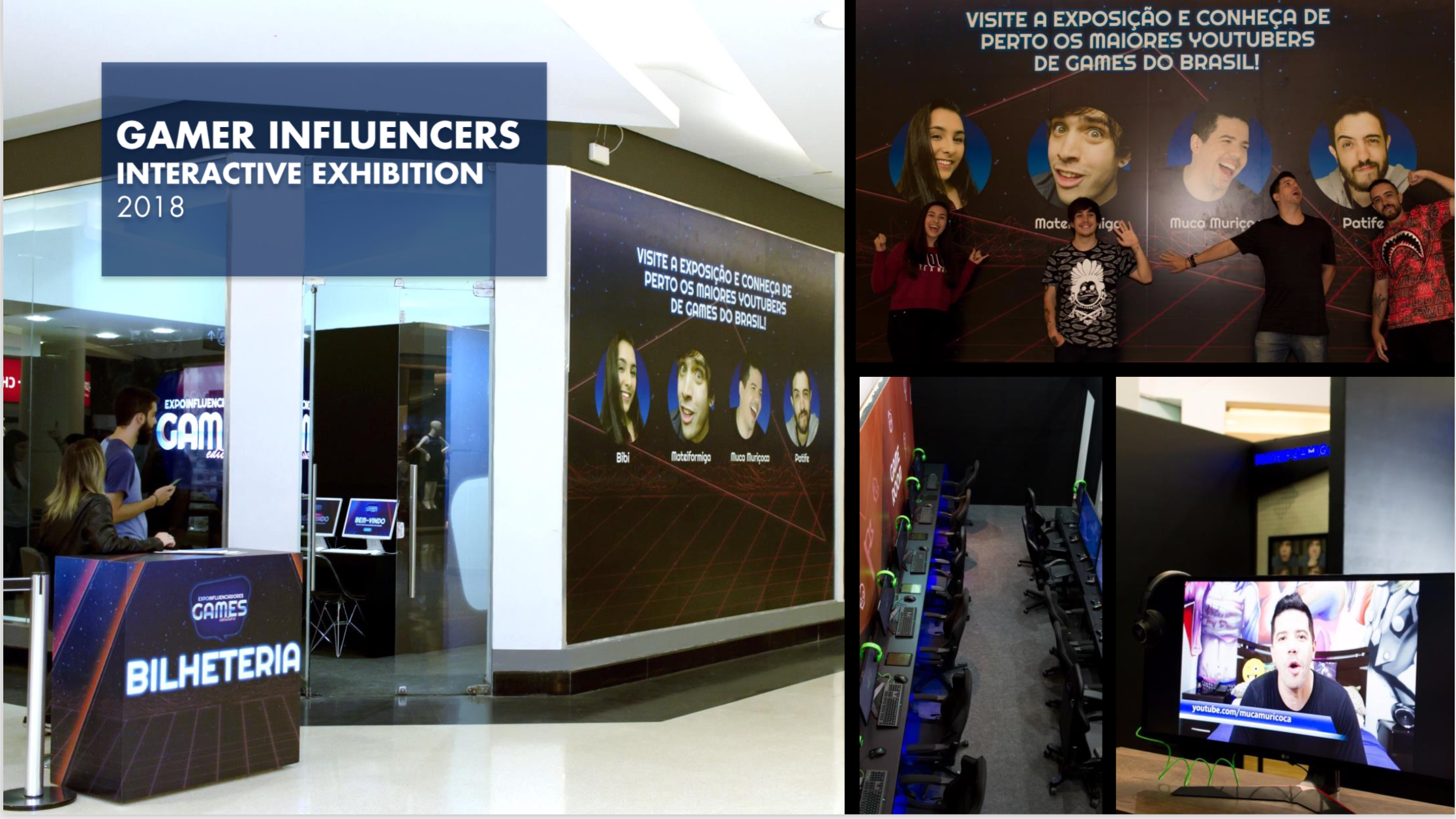 Gamer Influencers Interactive Exhibition Mall Tour