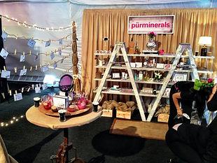 purminerals booth ipsy LA