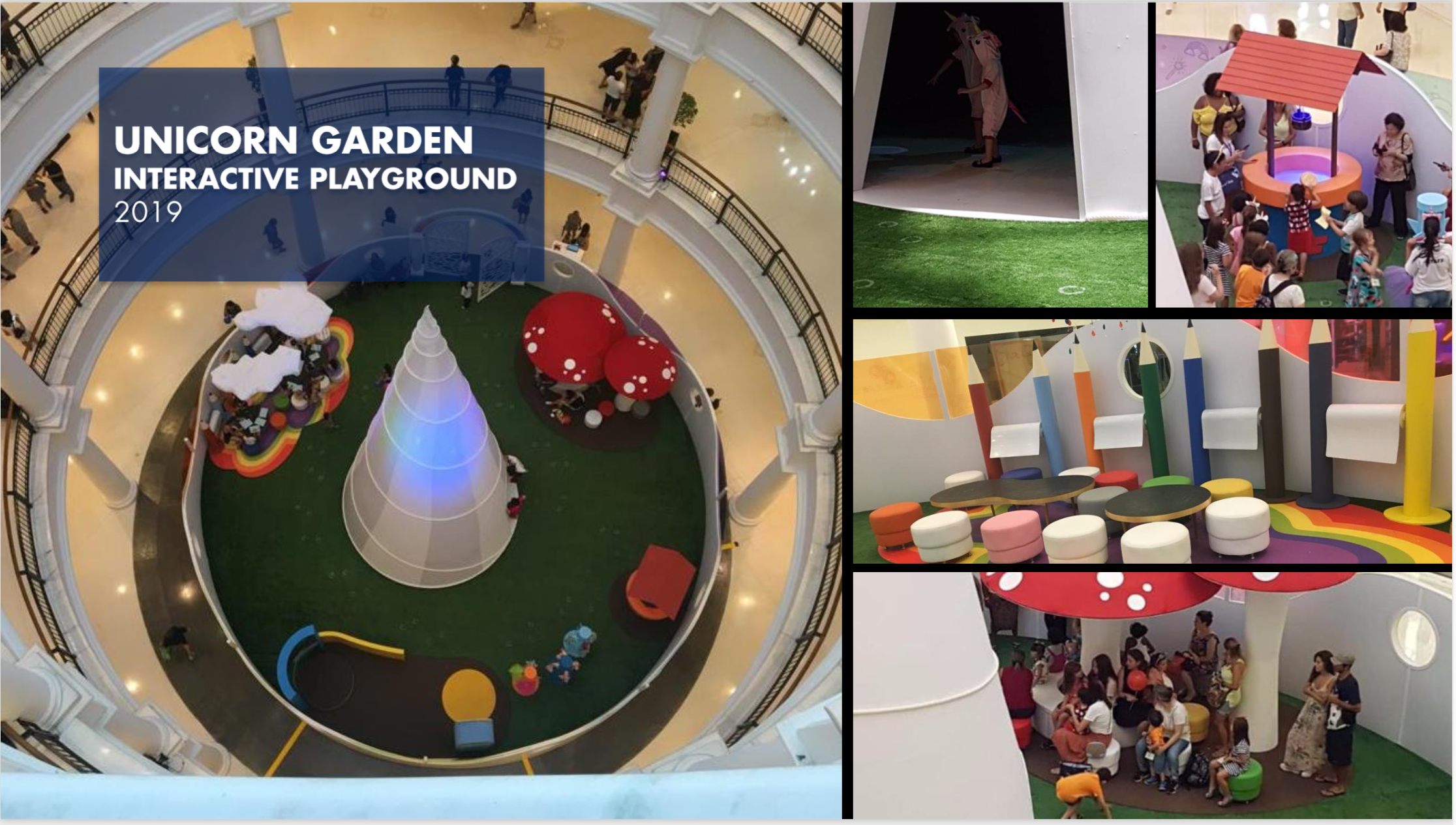 Unicorn Garden Interactive Playground