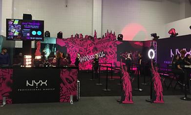 NYX BeautyCon NY Booth