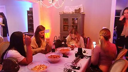 Bloggers preparing for Shut In Escape experience