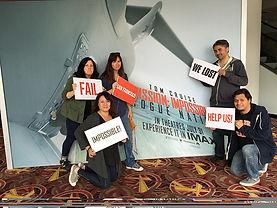 Mission Impossible Escape Room Participants