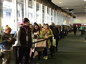 crowd at ipsy NY
