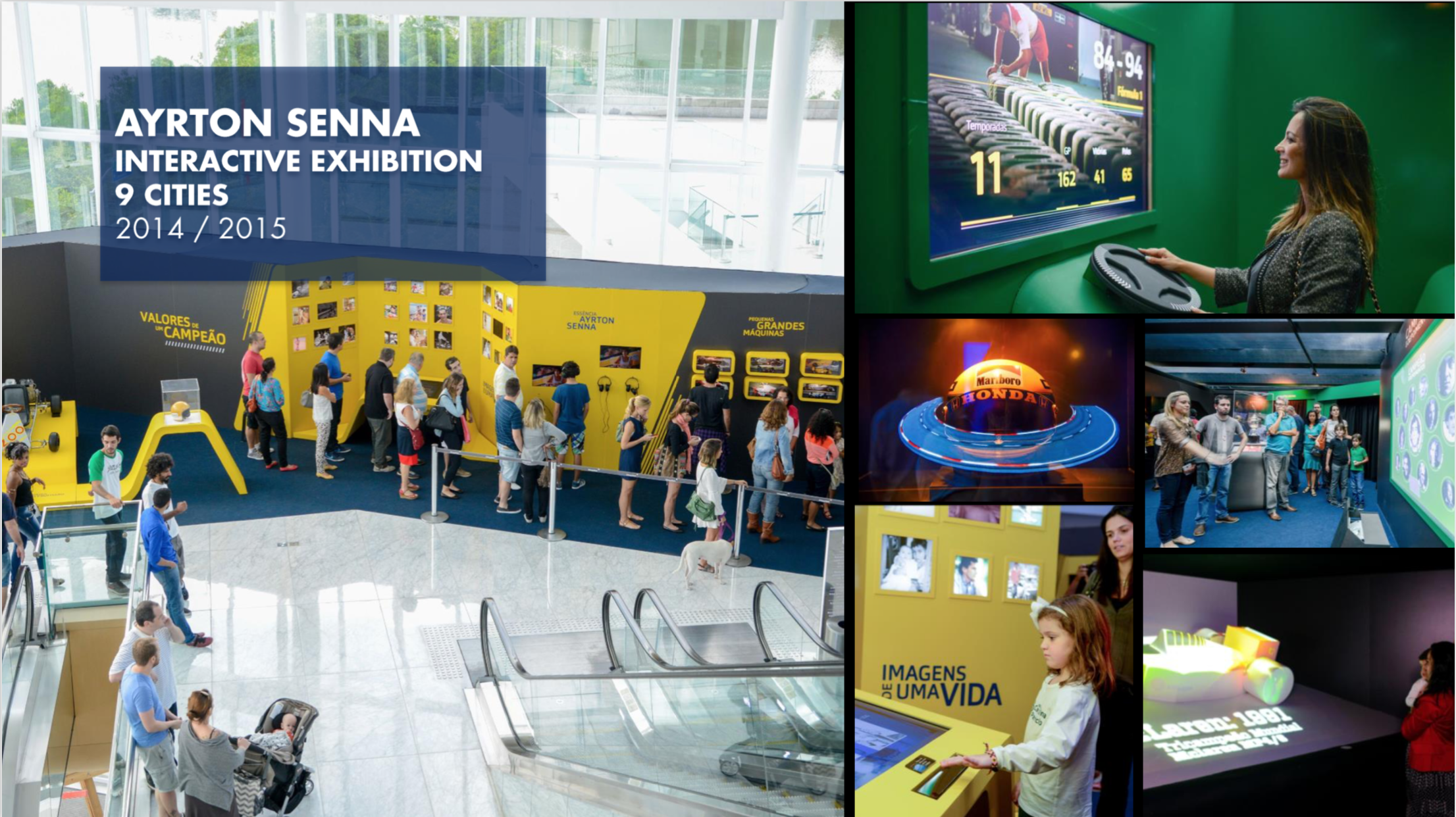 Ayrton Senna Interactive Exhibition