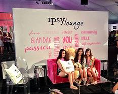 ipsy LA photo opportunity