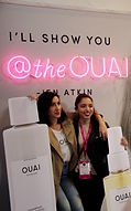 Jen Atkins at Ouai booth ipsy LA