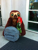 Croods character at ComicCon