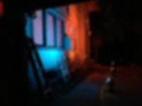 Backyard of Shut In Live Stream Escape Event