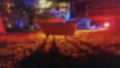 Creepy tub in backyard - Shut In Escape Experience