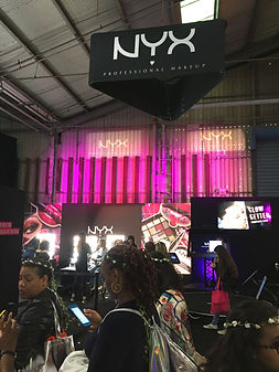 NYX Booth at BeautyCon NY