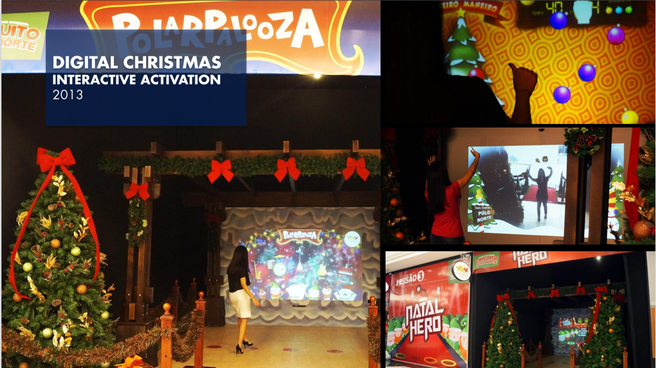 Digital Christmas Interactive Exhibition