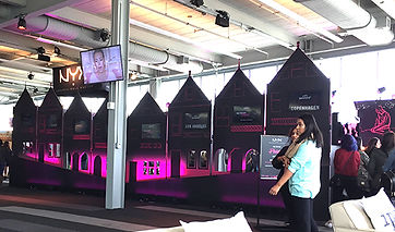 NYX booth ipsy San Francisco