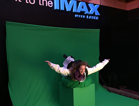 Skydiving photo opportunity for IMAX Furious 7 activation