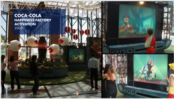 Coca Cola - Happiness Factory Mall Activation