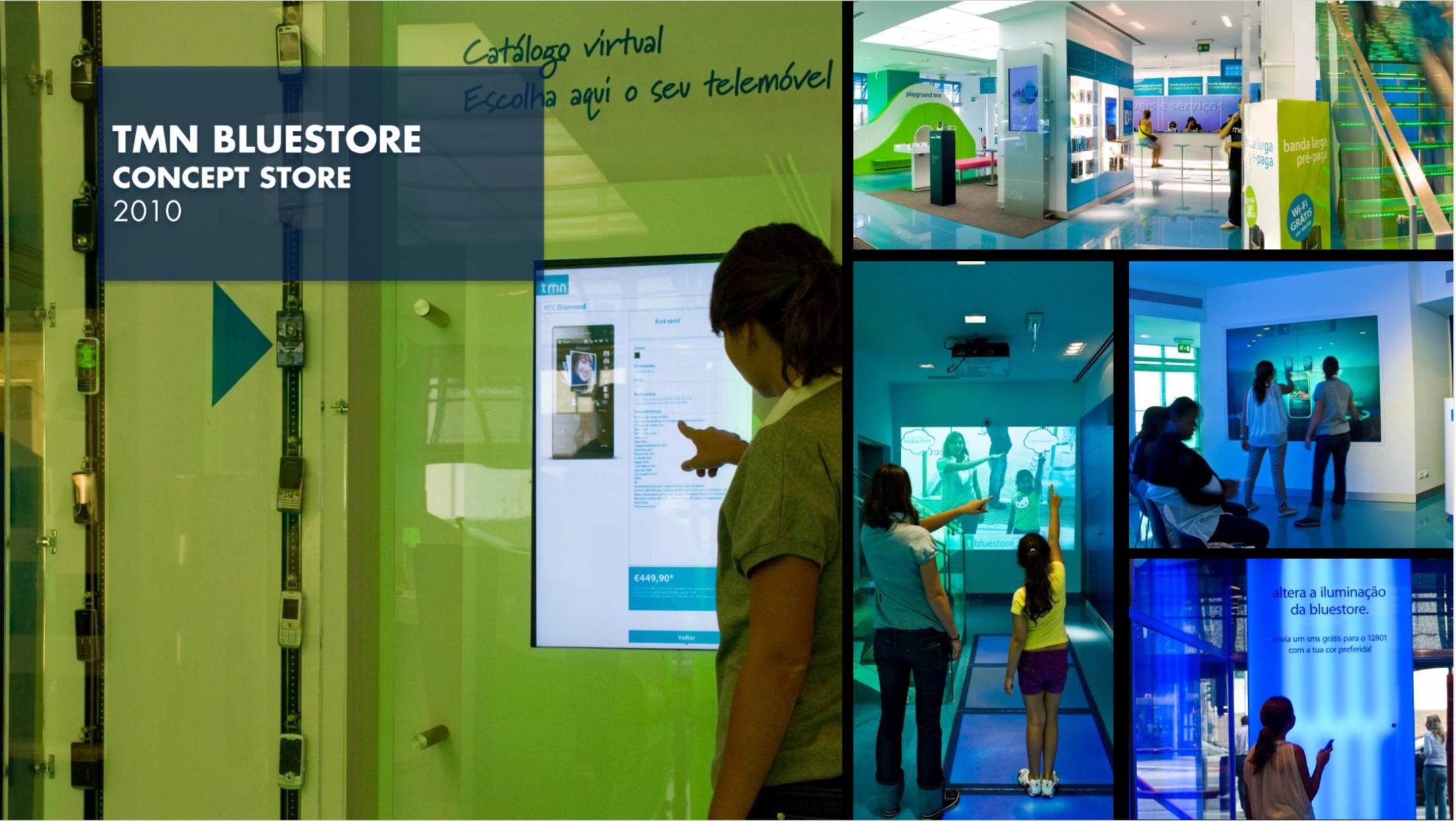 TMN Bluestore Concept Store