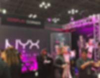 NYX Cosplay booth NY ComicCon