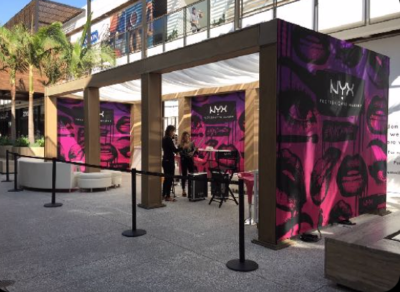 NYX Pop-Up Century City Mall